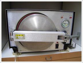高圧アルコール蒸気減菌器「ケミクレーブ」
